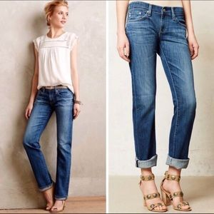AG AdrianoGoldschmied Tomboy relaxed straight jean